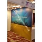 Exhibition décor / foamboard mount