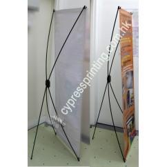 Plastic X-frame 60*160cm